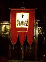 Литијска икона Вазнесења Господњег 1938.